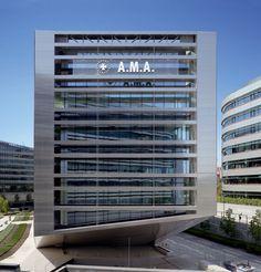 Rafael De- Lahoz_ Sede Corporativa de A.M.A. Seguros en Madrid. España Fotografía: Duccio Malagamba