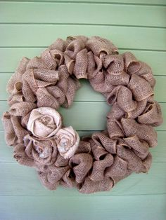 Am obsessed with burlap