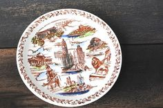 Vintage Chicago Illinois Collector Plate by vintageeclecticity, $34.00