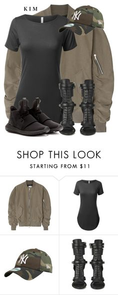 """Untitled #2944"" by kimberlythestylist ❤ liked on Polyvore featuring Fear of God, BOSS Black and adidas"