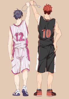Kuroko's Basketball (Kuroko no Basuke) - Taiga Kagami & Tatsuya Himuro