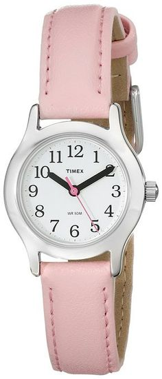 Cool My First Timex watch for kids with leather band. Great price!