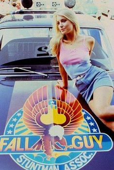 Heather Thomas as Jody Banks in The Fall Guy Poster Heather Thomas, Fall Guy Truck, Detective, The Fall Guy, Lee Majors, Heather Locklear, 80s Tv, Actrices Hollywood, Great Tv Shows