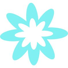 Blue Burst Flower ❤ liked on Polyvore featuring backgrounds and flowers