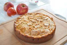 Moelleux aux pommes et à la frangipane Apple Pie, Baked Potato, Camembert Cheese, Muffin, Brunch, Gluten, Potatoes, Baking, Fruit