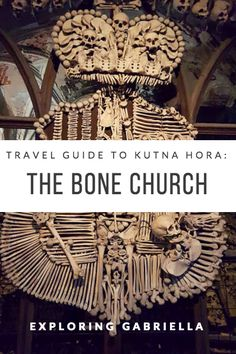 In a small town in the Czech Republic, there is a church with over 40,000 skeletons decorating it. Check out Gabriella's guide to Kutna Hora!