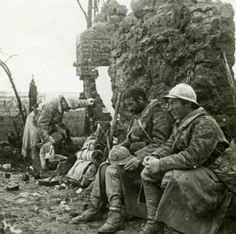 France-WWI-Soldiers-back-from-the-Front-old-SIP-Photo-1914-1918