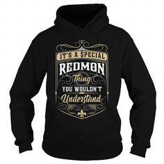 I Love REDMON REDMONYEAR REDMONBIRTHDAY REDMONHOODIE REDMONNAME REDMONHOODIES  TSHIRT FOR YOU T-Shirts