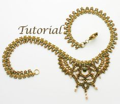seed bead necklace patterns | Jewelry Ideas | Project on Craftsy: Seed Bead Necklace ...