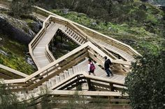 Winding their way through the scenic landscape along the Paiva river in Portugal, the 'Paiva Walkways' were recently completed for explorations of the surroundings at close range. In a collaboratio…