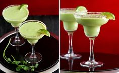 Avocado Margarita: It's like guacamole and a margarita had a baby! Love the idea of adding some spicy jalapeños to the mix. (viaCookin' Canuck)