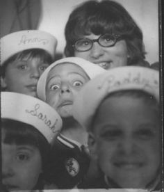 The sailor hat kids brigade. #vintage #photobooth #1970s