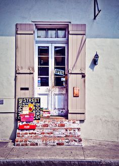 5x7 PHOTO  New Orleans Dauphine Street Books by Sugarberryphotos, $15.00