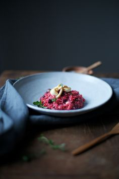 our food stories: beetroot risotto with mushrooms and truffle pecorino