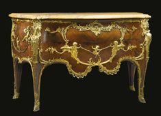 Joseph-Émmanuel Zwiener<br>fl. circa 1875-1900<br>A FINE RÉGENCE STYLE GILT BRONZE MOUNTED KINGWOOD COMMODE ADAPTED FROM THE CELEBRATED MODEL BY CHARLES CRESSENT<br>Paris, circa 1880s | Lot | Sotheby's