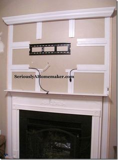 Hide cords for mounted tv.