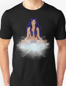 Meditating Girl Design T-Shirt