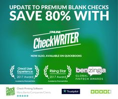 Deluxe Checks VS Blank Check Paper - How Online Check Writer can Save 805 of your money Cheap Checks, Order Checks Online, Payroll Checks, Checkbook Register, Blank Check, Online Signs, Writing Software, Shopping, Handprint Art