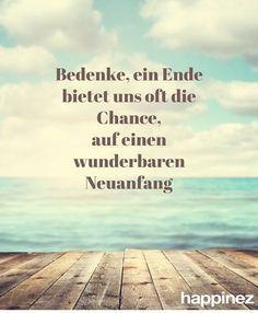 Ende - Chance - Neuanfang