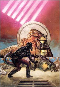 Star Wars - Dave Dorman Art - Tales of The Jedi #4