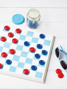 Create this iconic #game using a wood plaque and paint. #DIY