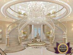 Sometimes beautiful interior becomes something more than just a luxurious living space. Interior villas in Dubai by Luxury Antonovich Design Studio has become the epitome of the modern image of the palace with the enchanting mood of beauty and...