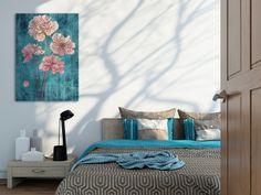 Obraz na płótnie - KWIATY - 50x70 w VAKU-DSGN na DaWanda.com