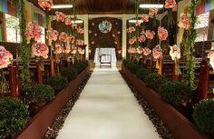 Realizando um Sonho   Blog de casamento e vida a dois: Cerimônia - Decoração