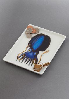 Thalassic Park Tray in Squid, #ModCloth, $16.99