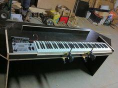 Fatar with older LMKs from Doepfer ? Studio Desk, Music Production, Study Desk