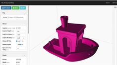 This screen video shows how the #3DBenchy 3D print calibration STL file is sliced for SLA 3D printers in the web-based SLAcer slicing software. -http://ift.tt/22OQnXV -http://ift.tt/1nL0NFz -http://3DBenchy.com  #3Dprinting #3Dprinter #slicer #slicing #3Dprinter #SLA