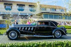 This year's winner of the Best in Show at the Pebble Beach Concours d'Elegance was a return to classical beauty.