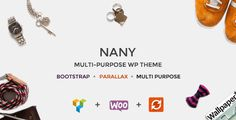 Nany - Creative Multipurpose WordPress Theme #creativewordpress #multipurposewordpress #wordpresstheme Live Preview and Download: http://themeforest.net/item/nany-creative-multipurpose-wordpress-theme/10169870?ref=ksioks