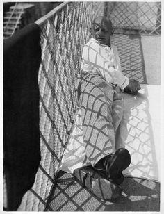 Oskar Schlemmer in Ascona, 1926 // ph. László Moholy Nagy