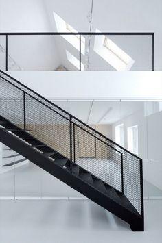 Treppen als Blickfang dank Streckmetall