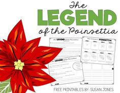"""The Legend of the Poinsettia by Tomie dePaola is one of my favorite Holidays Around the World books to read! I thought I would share some of the comprehension and vocabulary activities I use each year {of course, all """"gussied up"""" with better borders and fonts than I used in the past}. In case you're …"""