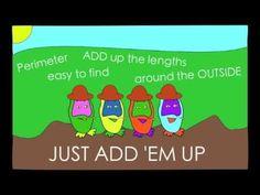 Perimeter Song: ADAM UP - Maths Adventures