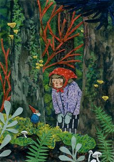 The Encounter print by Phoebe Wahl