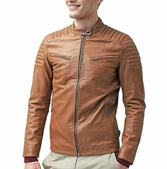 Men's Leather Jackets Exporters