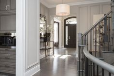 The Cavendish - Andrew Pike Interiors Entryway, Stairs, Foyers, Staircases, Mirror, Hallways, Interiors, Furniture, Home Decor