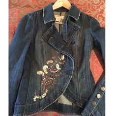 Calvin Klein Embellished Denim Jacket