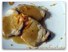 Lonza di maiale all'arancia | ricette arista maiale | arrosto maiale