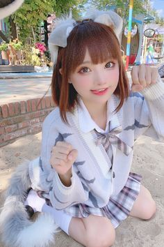 Kawaii Cosplay, Cute Cosplay, Best Cosplay, Cosplay Girls, School Girl Japan, Hot Japanese Girls, Beautiful Japanese Girl, Pretty Asian Girl, Beautiful Asian Girls