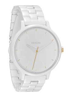 I'm in love with this Nixon Kensington watch.  I want it for my birthday.  I want to know what it looks like when the Chromacoat wears off....