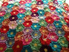 Teacup Lane: Waikiki Wildflower Crochet Pattern at FeltedButton.com