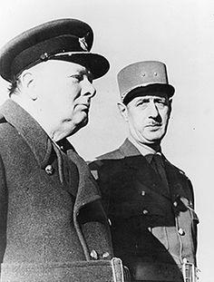 Churchill / De Gaulle