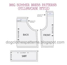 dog dress patterns preview