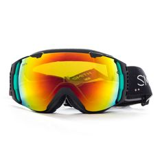 Smith I/O Women's Snow Goggle in Angel Supernatural design with Red SolX Lens