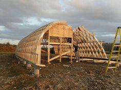 Ross Creek Arts Centre - Design & Build on Behance Arch House, Dome House, Architecture Portfolio, Architecture Design, Architecture Diagrams, Greenhouse Plans, Parametric Design, Site Plans, Architectural Presentation