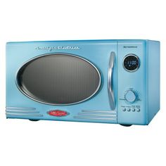 First Choice Furnishings - Nostalgia Electrics RMO-400BLUE Retro Series 0.9-Cubic Foot Microwave Oven - Blue, $93.92 (http://www.firstchoicefurnishings.com/nostalgia-electrics-rmo-400blue-retro-series-0-9-cubic-foot-microwave-oven-blue/)